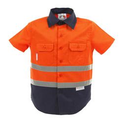 orange short sleeve shirt product